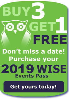 WISE 2019 Events Pass Offer